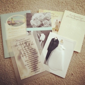 wedding and bridal shower cards