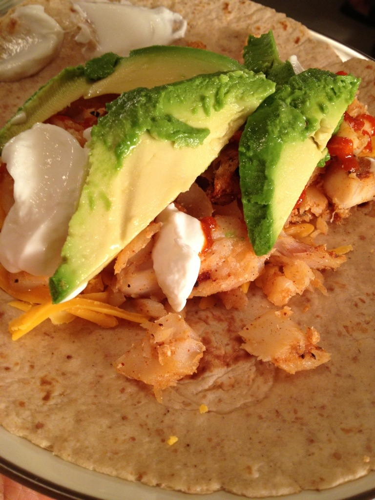 Easy fish tacos with homemade taco seasoning budget for for Fish tacos recipe easy