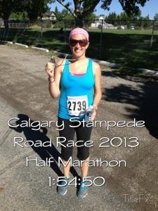 Stampede Road Race Half Marathon