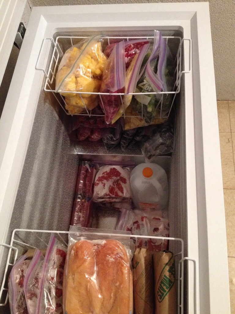 deep freezer goodies