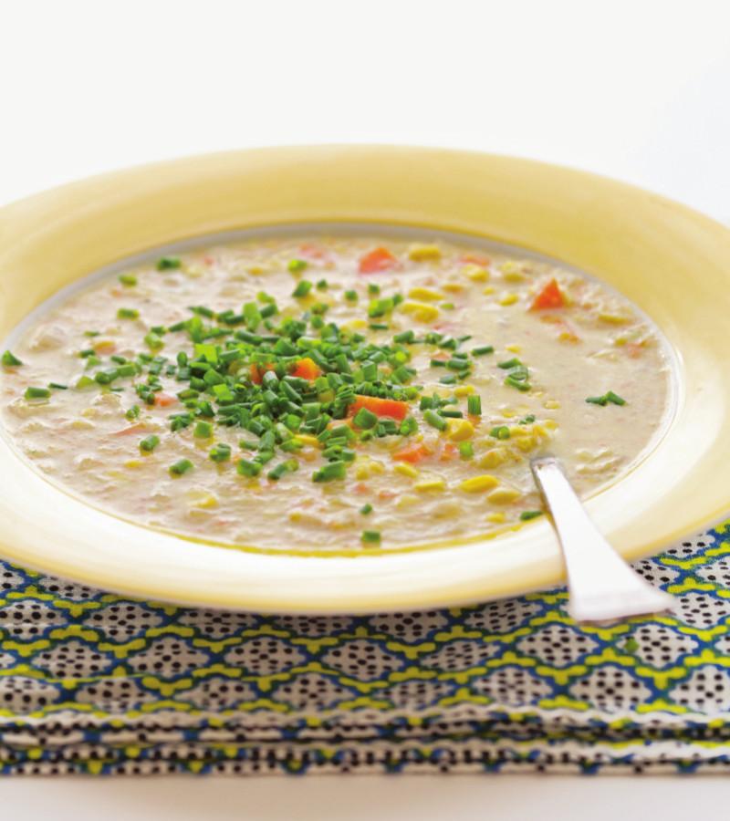 veggie corn chowder