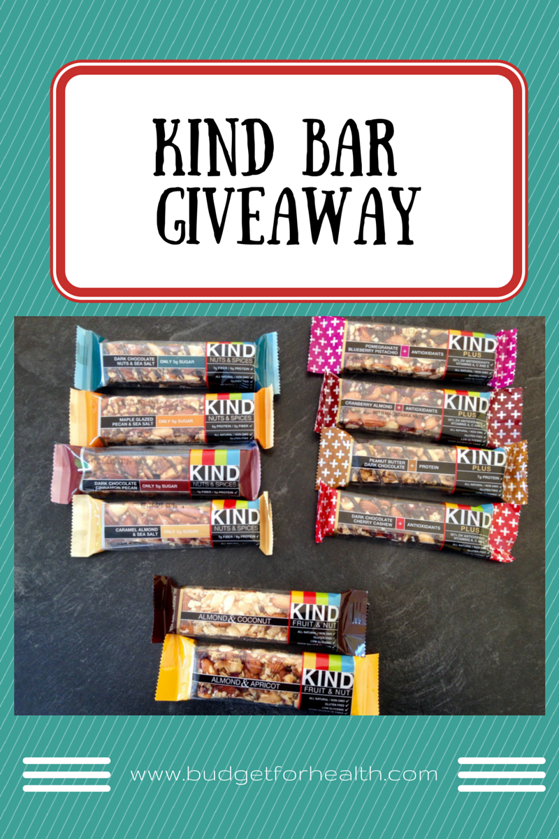 kind bar giveaway