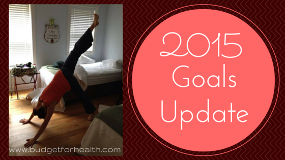 2015 goals check in