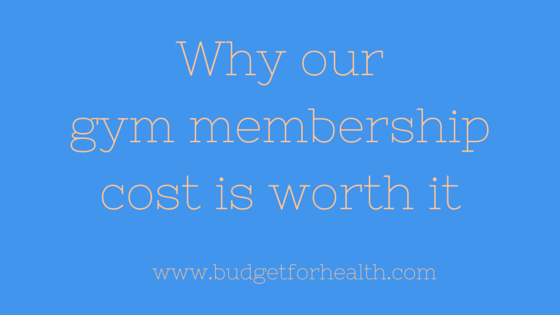 Having a membership to a health