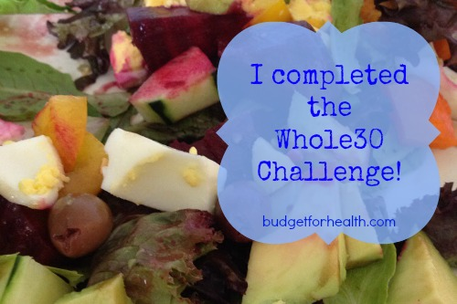 whole30 challenge complete