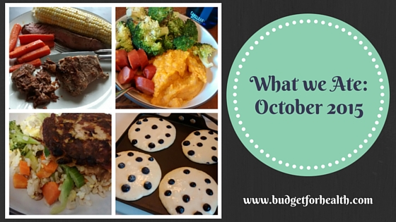 what we ate: October 2015