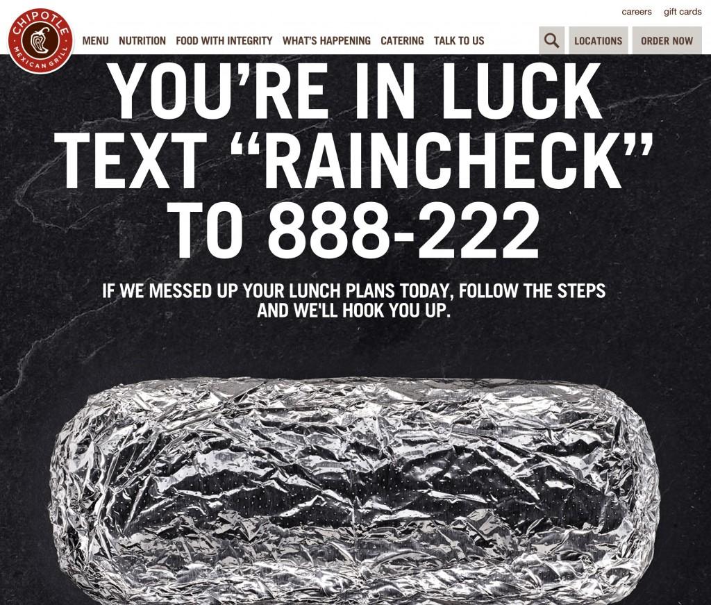 free burrito