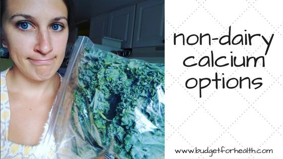 non-dairy calcium options